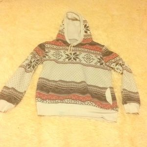 Other - A small, patterned sweatshirt. (For teens)